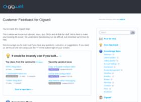 gigwell.uservoice.com