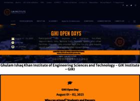 giki.edu.pk