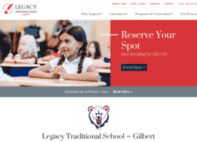gilbert.legacytraditional.org