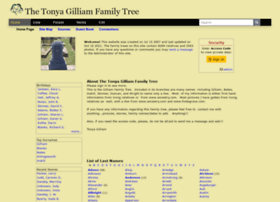 gilliamfamily.tribalpages.com