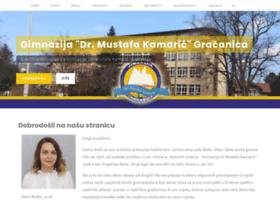 gimnazija-gracanica.com