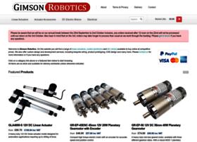 gimsonrobotics.co.uk