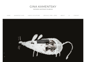 ginakamentsky.com
