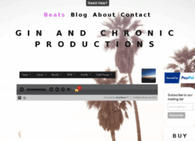 ginandchronicproductions.com