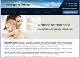 ginecologosdurango.mx