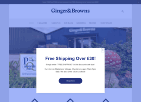 gingerandbrowns.co.uk