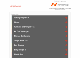 gingerbox.us