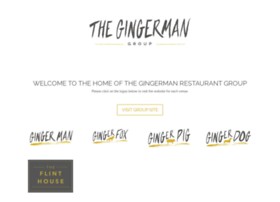 gingermanrestaurants.com