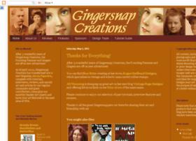 gingersnapcreations.blogspot.com