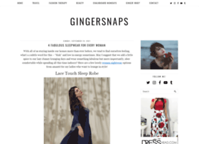 gingersnapsxoxo.com
