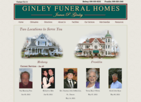 ginleyfuneralhomes.com