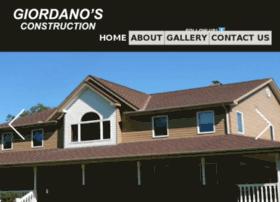 giordanosconstruction.com