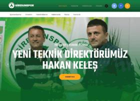 giresunspor.com.tr