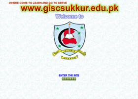 giscsukkur.edu.pk