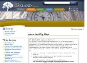 gismaps.oaklandnet.com