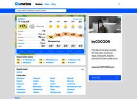 Gismeteo com gismeteo com weather forecast description keywords