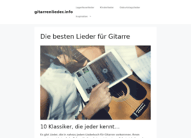 gitarrenlieder.info