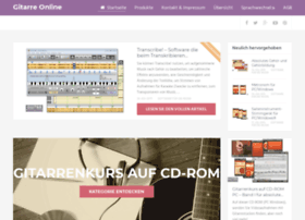 gitarreonline.com