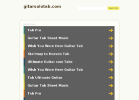 gitarsolotab.com