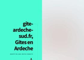 gite-ardeche-sud.fr