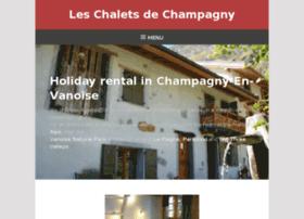 gite-champagny.com