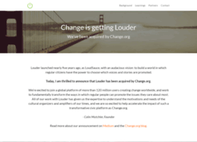 give.louder.org