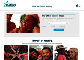 give.starkeyhearingfoundation.org