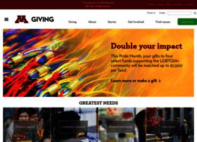 give.umn.edu