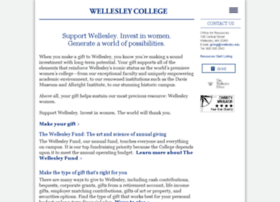 give.wellesley.edu