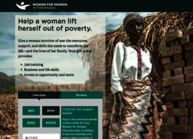 give.womenforwomen.org