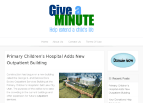 giveaminute.org