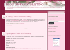 giveawaylisting.wordpress.com