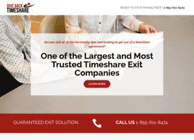 givebacktimeshare.com