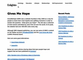 givesmehope.com
