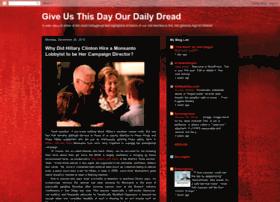 giveusthisdayourdailydread.blogspot.com