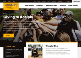 giving.adelphi.edu