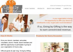 givingbygifting.com