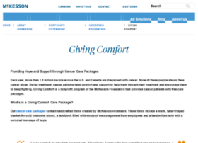givingcomfort.org