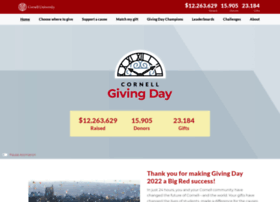 givingday.cornell.edu
