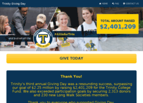 givingday.trincoll.edu