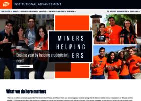 givingto.utep.edu