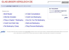 glaeubiger-vergleich.de