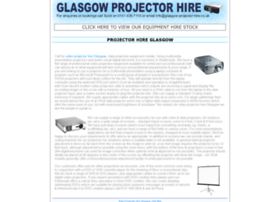 glasgow-projector-hire.co.uk