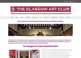 glasgowartclub.co.uk