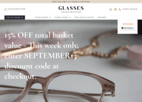 glassesframesandlenses.com