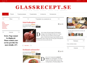 glassrecept.se