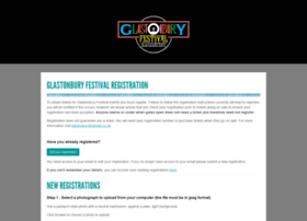 glastonburyregistration.com