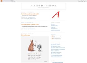 glaube-ist-heilbar.blogspot.com
