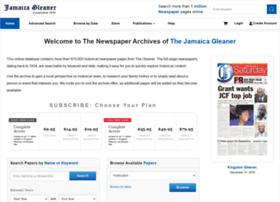 gleaner.newspaperarchive.com