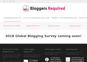 globalbloggingsurvey.bloggersrequired.com